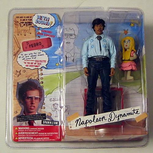 Napoleon Dynamite Pedro Sanchez Figure Toy UK N4PTYPE384945