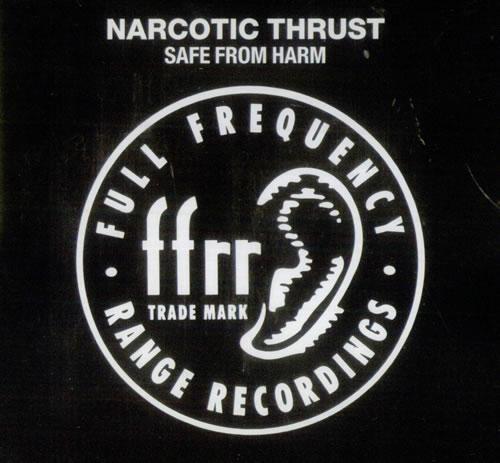"Narcotic Thrust Safe From Harm CD single (CD5 / 5"") UK NC5C5SA537229"
