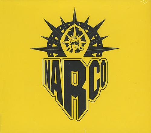 Narco Control Of The Stereo CD album (CDLP) UK NB6CDCO394042