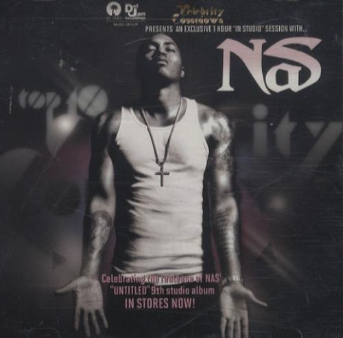 Nas An Exclusive 1 Hour 'In Studio' Session With Nas + Hero CD-R acetate US N-SCRAN444082