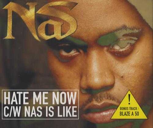 Nas Hate Me Know 2-CD single set (Double CD single) UK N-S2SHA386748
