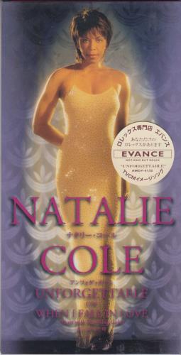 """Natalie Cole Unforgettable 3"""" CD single (CD3) Japanese NCOC3UN164734"""
