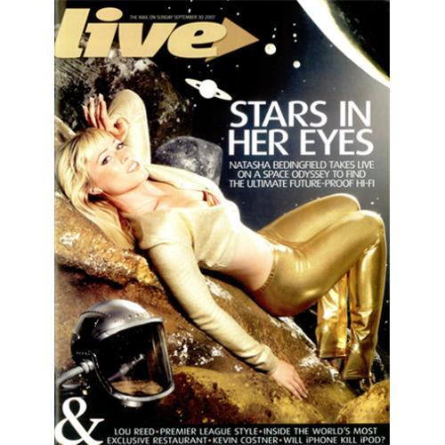 Natasha Bedingfield Live Magazine magazine UK NBDMALI420549