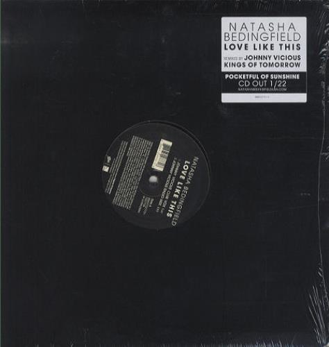 "Natasha Bedingfield Love Like This 12"" vinyl single (12 inch record / Maxi-single) US NBD12LO430222"