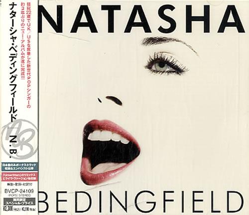 Natasha Bedingfield N.B. CD album (CDLP) Japanese NBDCDNB632287