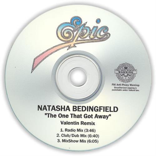 Natasha Bedingfield The One That Got Away - Valentin Remix CD-R acetate US NBDCRTH409531
