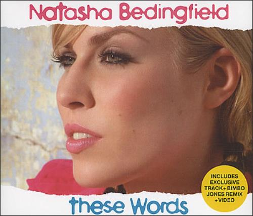 "Natasha Bedingfield These Words CD single (CD5 / 5"") UK NBDC5TH382678"