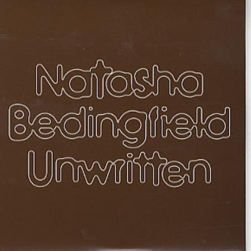 "Natasha Bedingfield Unwritten CD single (CD5 / 5"") UK NBDC5UN307729"