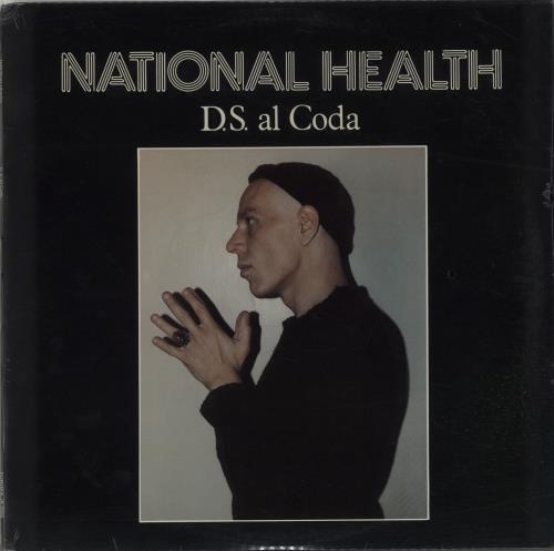 National Health D.S. Al Coda - Sealed vinyl LP album (LP record) US NTNLPDS656126