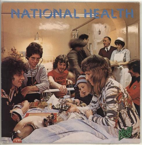 National Health National Health - EX vinyl LP album (LP record) UK NTNLPNA392344