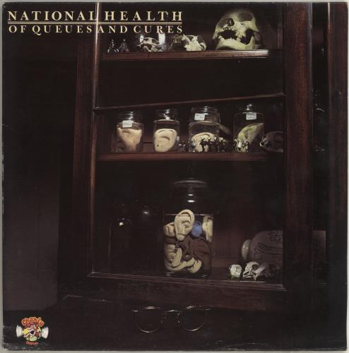 National Health Of Queues And Cures vinyl LP album (LP record) UK NTNLPOF392351
