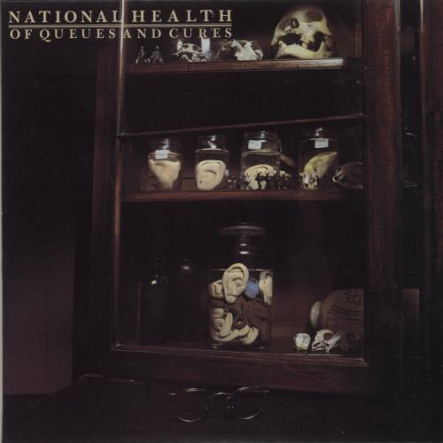 National Health Of Queues And Cures CD album (CDLP) Japanese NTNCDOF590876