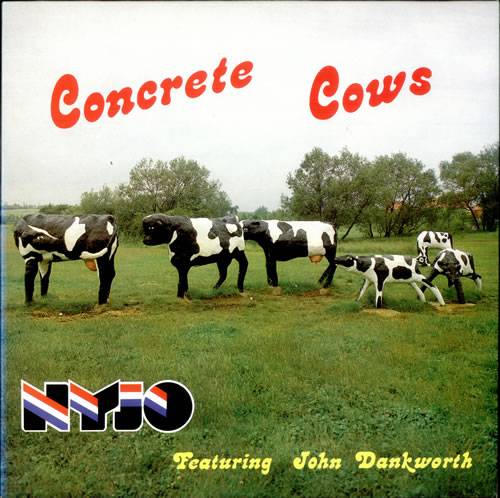 National Youth Jazz Orchestra Concrete Cows vinyl LP album (LP record) UK NJ0LPCO512816