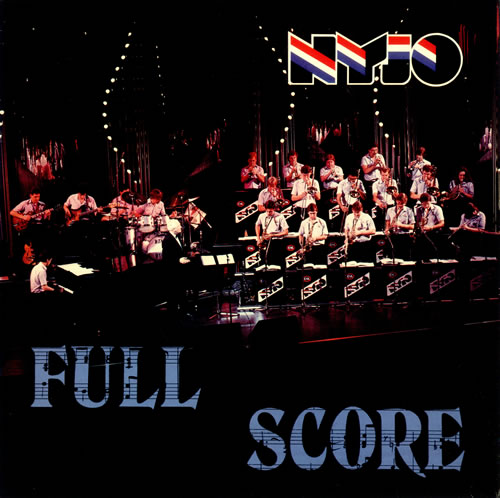 National Youth Jazz Orchestra Full Score vinyl LP album (LP record) UK NJ0LPFU512818