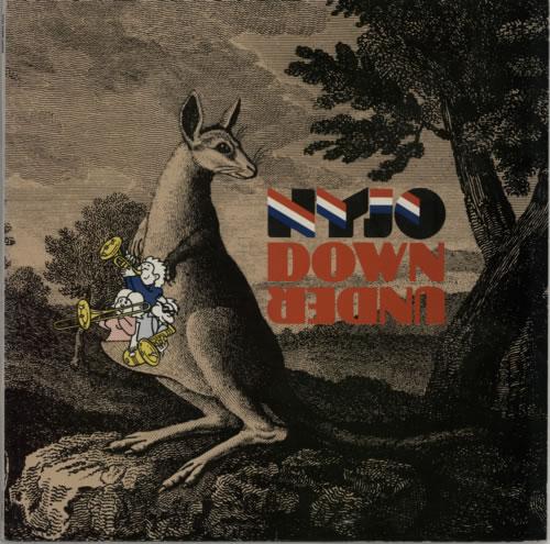 National Youth Jazz Orchestra NYJO Down Under 2-LP vinyl record set (Double Album) UK NJ02LNY512820