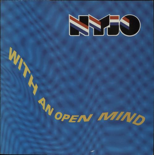 National Youth Jazz Orchestra With An Open Mind vinyl LP album (LP record) UK NJ0LPWI656574