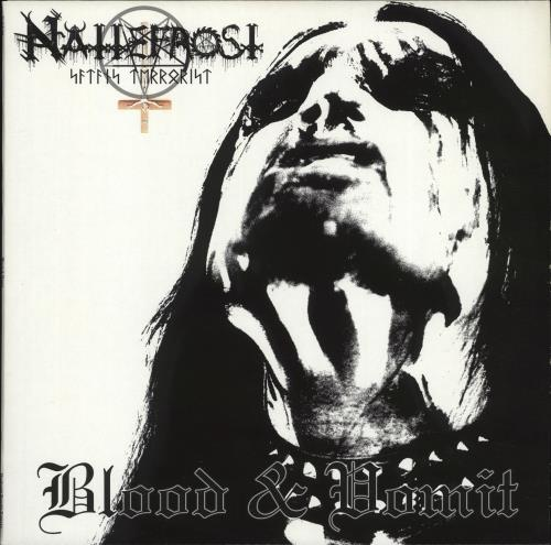 Nattefrost Blood & Vomit vinyl LP album (LP record) German Q2ULPBL705502