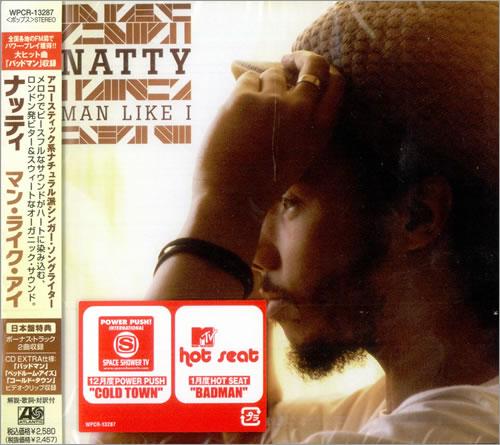 Natty Man Like I CD album (CDLP) Japanese NT9CDMA503209