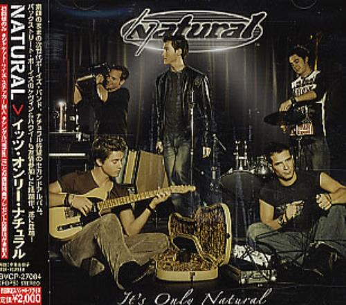 Natural It's Only Natural CD album (CDLP) Japanese URLCDIT296091
