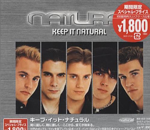 Natural Keep It Natural CD album (CDLP) Japanese URLCDKE250998