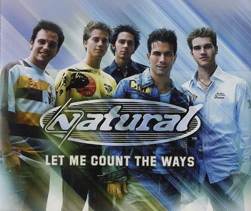 "Natural Let Me Count The Ways CD single (CD5 / 5"") UK URLC5LE480564"