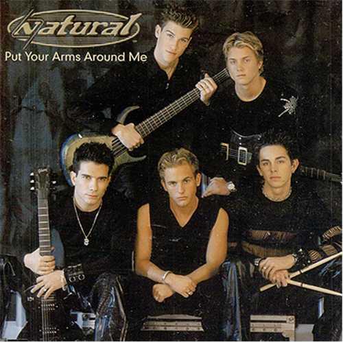 """Natural Put Your Arms Around Me CD single (CD5 / 5"""") UK URLC5PU220584"""
