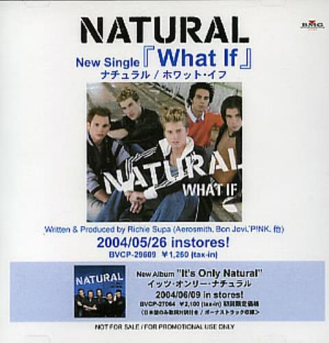 Natural What If CD-R acetate Japanese URLCRWH296038