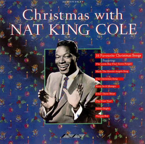 Nat King Cole Christmas With Nat King Cole UK vinyl LP album (LP record) (305739)