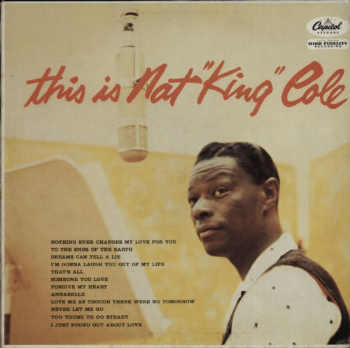 Nat King Cole This Is Nat 'King' Cole vinyl LP album (LP record) French NKCLPTH361458