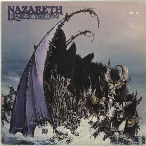 Nazareth Hair Of The Dog vinyl LP album (LP record) UK NZRLPHA693334