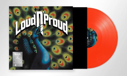 Nazareth Loud 'N' Proud - Orange Vinyl - Sealed vinyl LP album (LP record) UK NZRLPLO761455