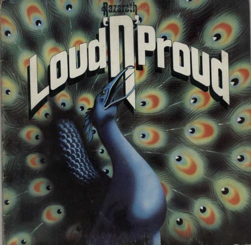 Nazareth Loud 'N' Proud - VG vinyl LP album (LP record) UK NZRLPLO602245