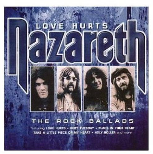 Nazareth Love Hurts The Rock Ballads Uk Cd Album Cdlp