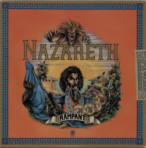 Nazareth Rampant vinyl LP album (LP record) US NZRLPRA611233