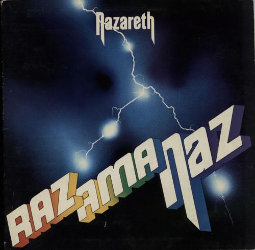 Nazareth Razamanaz - VG vinyl LP album (LP record) UK NZRLPRA161211