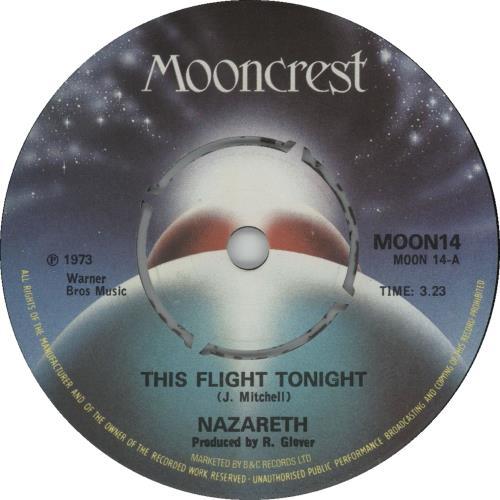 Nazareth This Flight Tonight Uk 7 Quot Vinyl Single 7 Inch