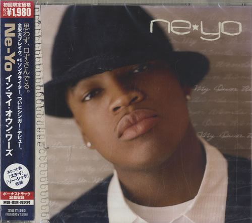 Ne-Yo In My Own Words CD album (CDLP) Japanese N-YCDIN471186