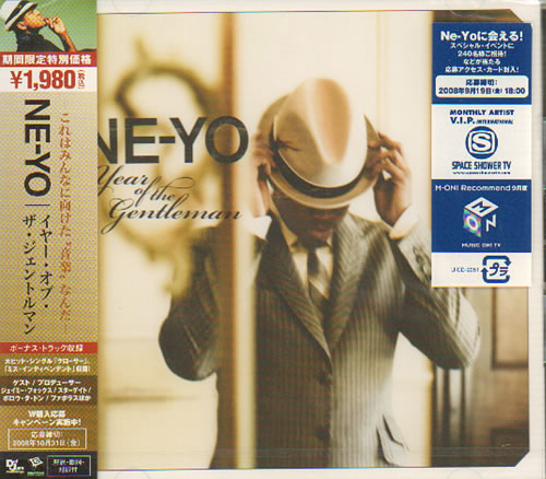 Ne-Yo Year Of The Gentleman - Sealed CD album (CDLP) Japanese N-YCDYE639568