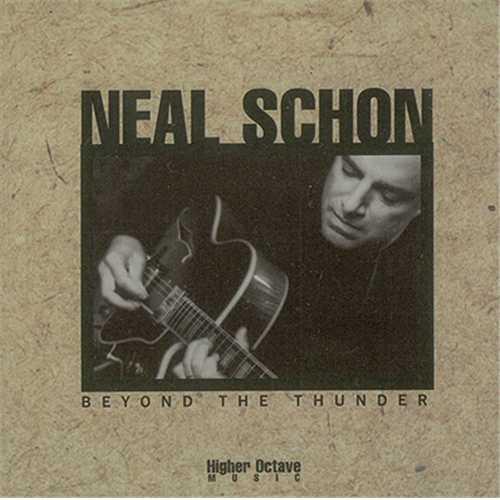 Neal Schon Beyond The Thunder CD album (CDLP) US NCNCDBE407640