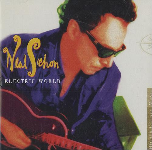 Neal Schon Electric World 2 CD album set (Double CD) US NCN2CEL489776