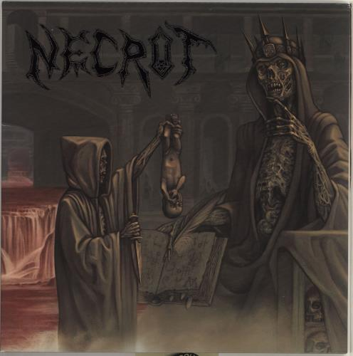 Necrot Blood Offerings - Splatter Vinyl vinyl LP album (LP record) US Q6CLPBL715934