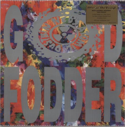 Ned's Atomic Dustbin God Fodder - 180gm Silver & Black Vinyl + Numbered - Sealed vinyl LP album (LP record) Dutch NADLPGO727723