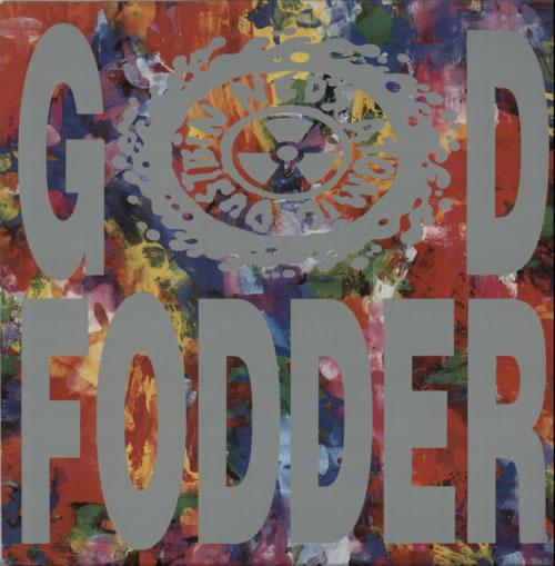 Ned's Atomic Dustbin God Fodder vinyl LP album (LP record) UK NADLPGO249565