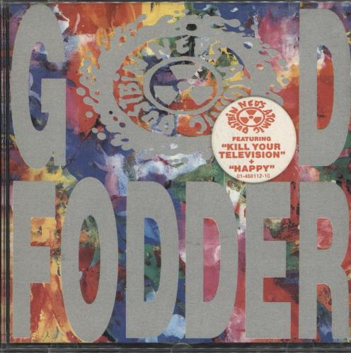 Ned's Atomic Dustbin God Fodder CD album (CDLP) UK NADCDGO712799
