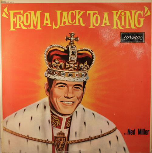 Ned Miller From A Jack To A King vinyl LP album (LP record) UK NMILPFR340670