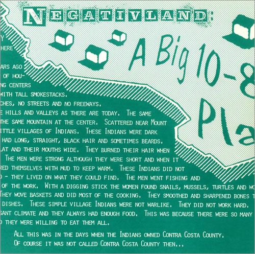 Negativland A Big 10-8 Place vinyl LP album (LP record) US NEGLPAB444598