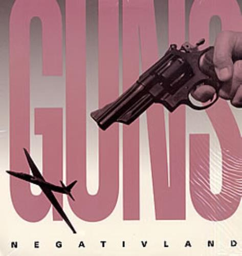 "Negativland Guns 12"" vinyl single (12 inch record / Maxi-single) US NEG12GU252095"
