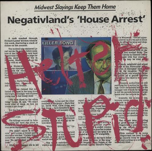 Negativland Helter Stupid vinyl LP album (LP record) Swiss NEGLPHE646642
