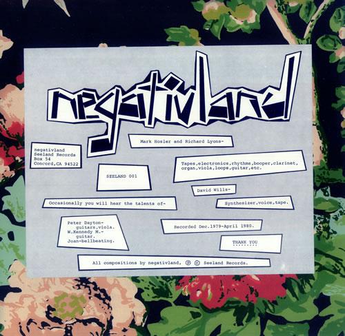 Negativland Negativland vinyl LP album (LP record) US NEGLPNE444684