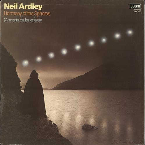 Neil Ardley Harmony Of The Spheres (Armonía De Las Esferas) vinyl LP album (LP record) Spanish N/ALPHA717002